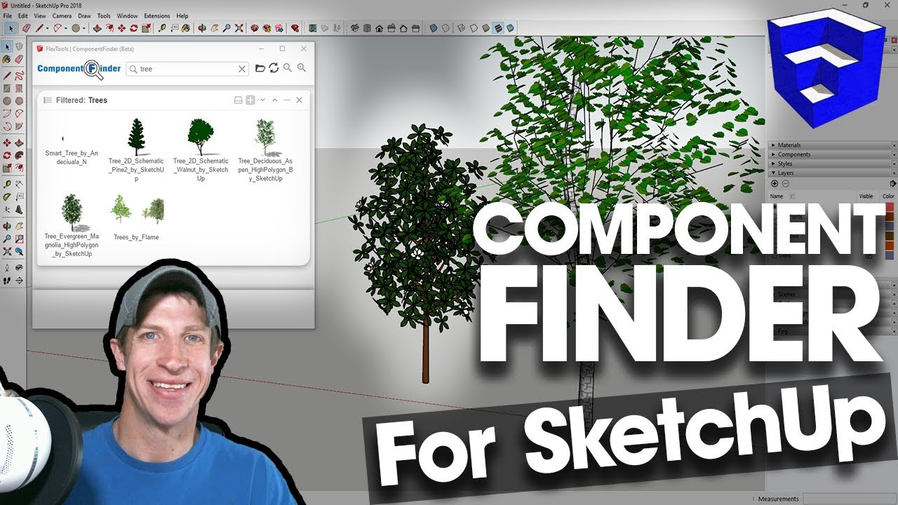 MANAGE YOUR COMPONENT LIBRARY with Component Finder - The SketchUp