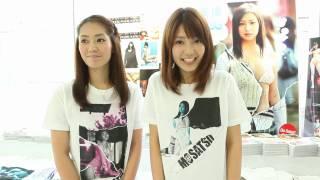 7月30日の妄撮ショップチラッと店長、谷桃子さん、古崎瞳さんの終了後の...