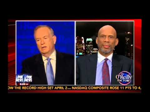 Bill O'Reilly Intrerviews Kareem Abdul Jabbar Over Sterling, Racism, and the USA