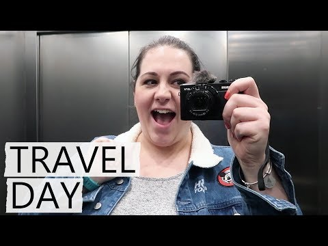 Solo Florida Holiday Vlog 2018 | Day 1 | Travel Day