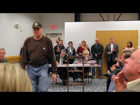 Sugar Grove City Hall Meeting