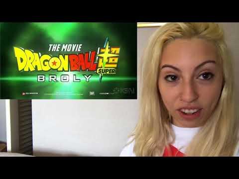 Dragon Ball Super: Broly Movie Trailer Exclusive Comic Con 2018 - REACTION!!!