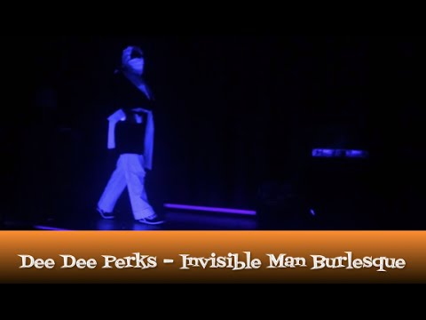 Dee Dee Perks Invisible Man Burlesque from The Dollface Dames