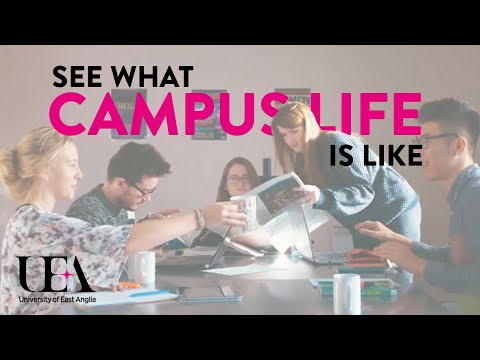 Accommodation and Campus Life | University of East Anglia (UEA)