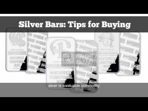 Silver Bars : Tips For Buy