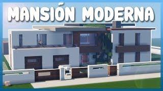 Minecraft: Como DECORAR una MANSIÓN MODERNA!