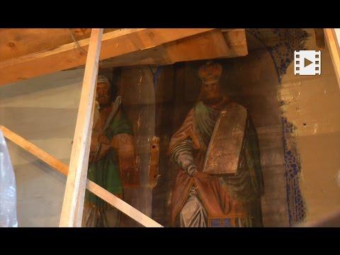 В храмі на Прикарпатті виявлено розписи XVIII ст.