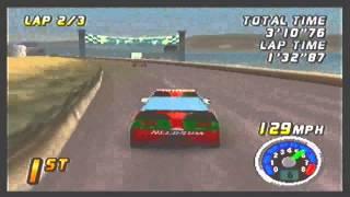 Top Gear Rally N64: Coastline