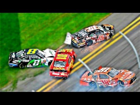 NASCAR Qualifying Crashes