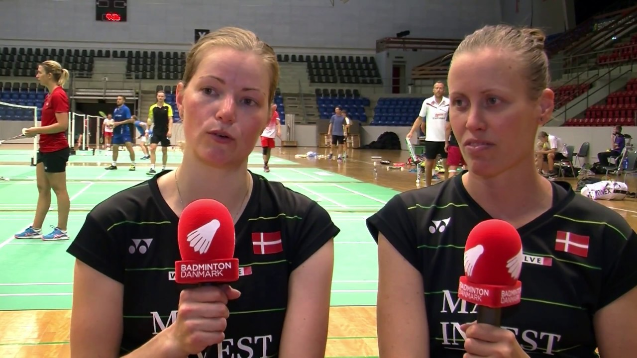Mit VM Christinna Pedersen & Kamilla Rytter Juhl