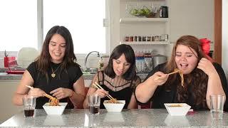 [Cine minuto: Corea desde casa] Recreando Jjapaguri de parasite - María, Maira y Cinthya