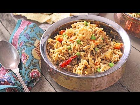 recette-de-riz-pilaf-aux-légumes-₪-pankaj-sharma