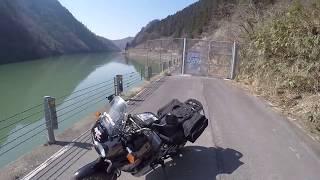 新潟県阿賀町の旧49号阿賀野川ライン