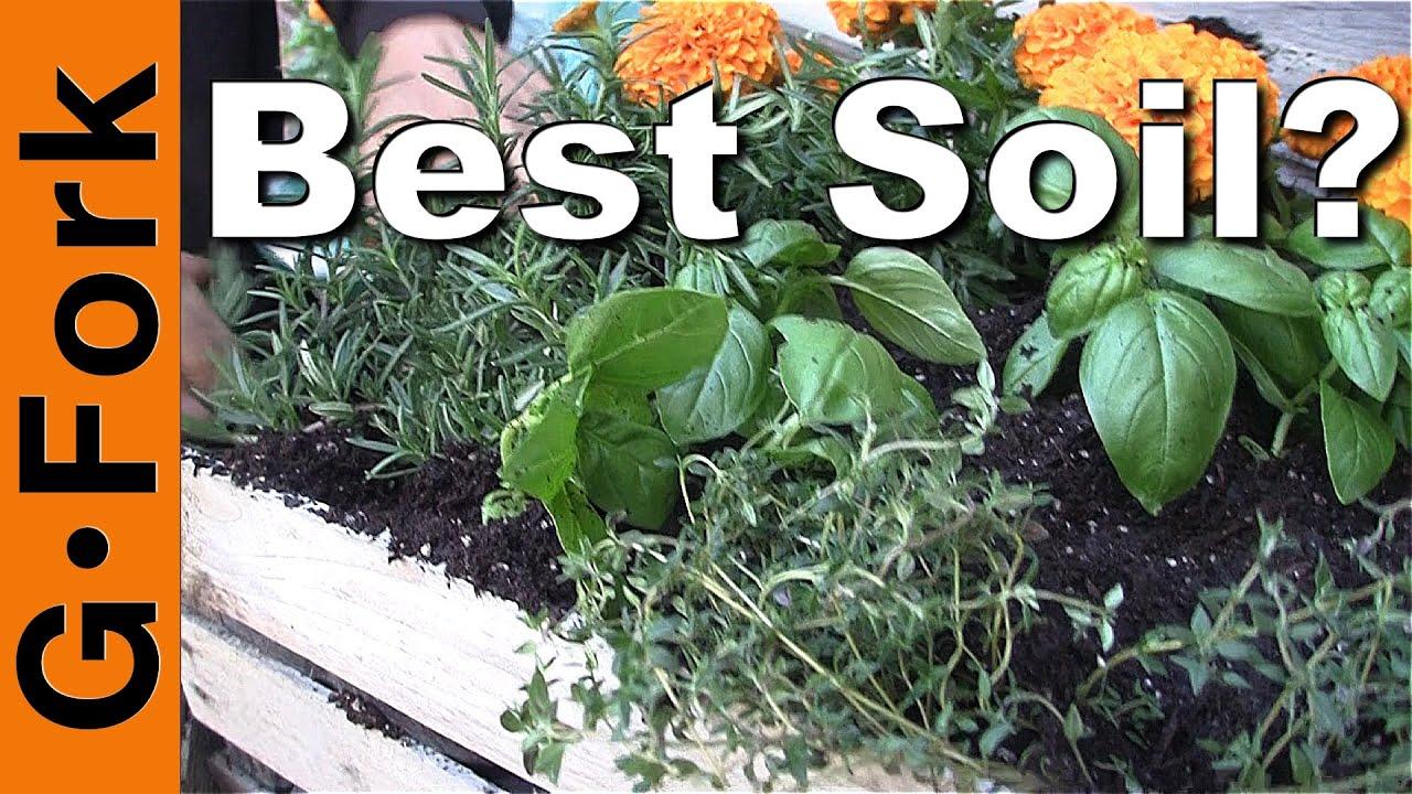 Best Potting Soil Mix?   GardenFork   YouTube