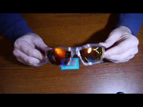 Спортивные поляризационные солнцезащитные очки Dubery с прозрачной оправой