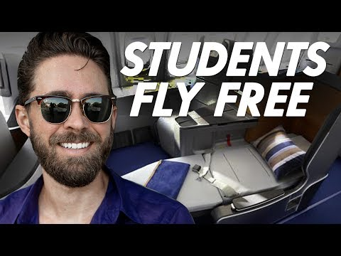 Best STUDENT Credit Cards 2019 Flight HACKING For Beginners