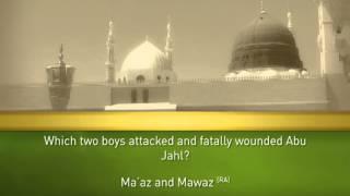 Holy Prophet (SAW)  Quiz  3