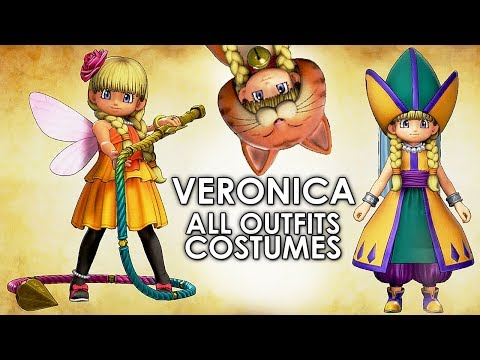 Dragon Quest XI All Veronica Costumes and Armour Locations Full Guide