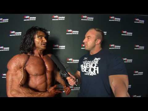 Dr  Michael Aprin Classic Bodybuilding II über 178cm Siegerinterview@DM2017