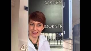Обучение в академии Vidal Sassoon август 2016 г.
