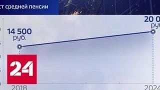 Смотреть видео Изменения пенсионной системы направлены на повышение качества жизни пенсионеров - Россия 24 онлайн
