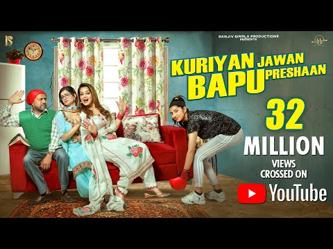 Kuriyan Jawan Bapu Preshaan | Full 4K HD | Full Comedy | Karamjit Anmol | Latest Punjabi Movie 2021