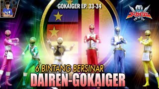 BAHAS GOKAIGER EPISODE 33 & 34 - Hal Menarik Gokaiger Review & Easter Egg | #SuperRangers