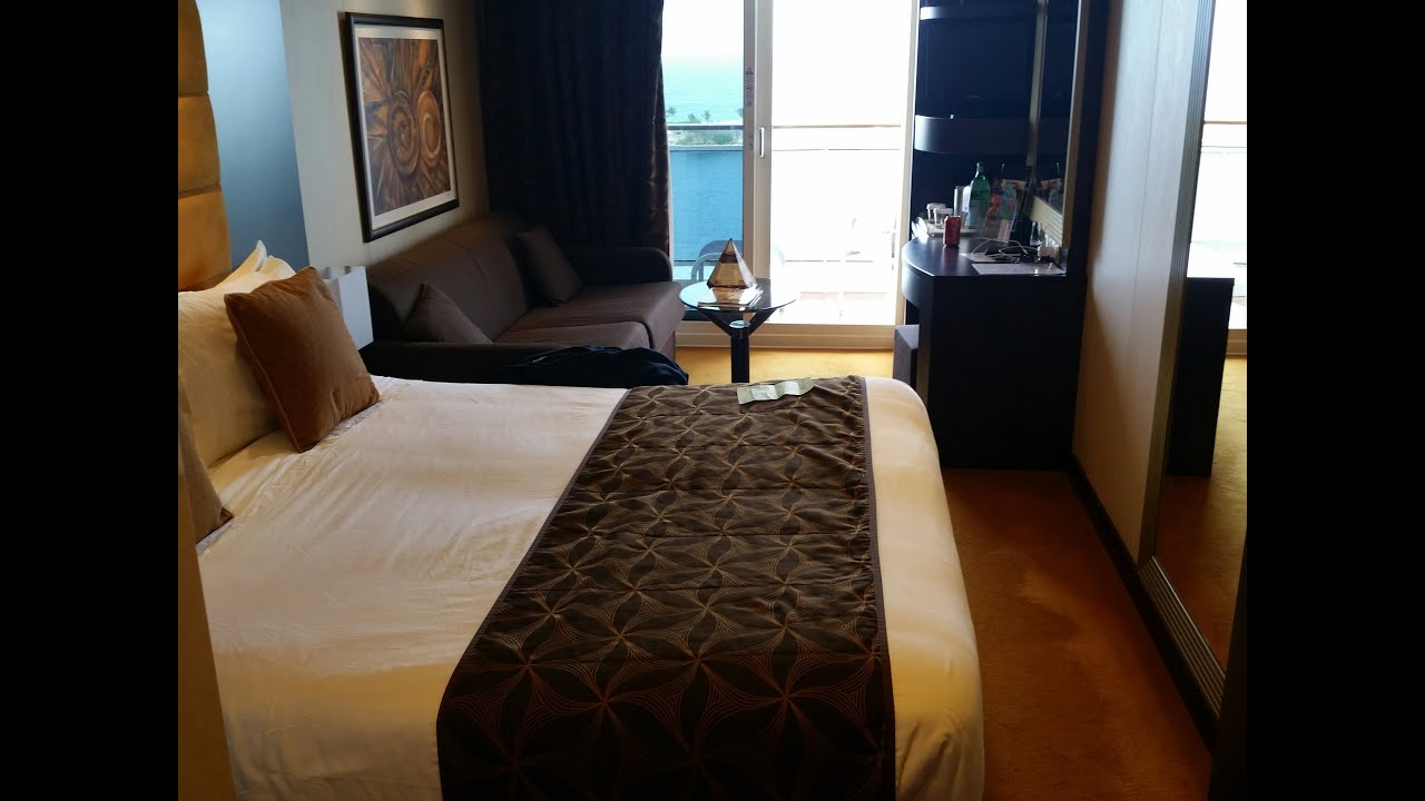 MSC Divina Balcony Cabin 12059 Video Tour