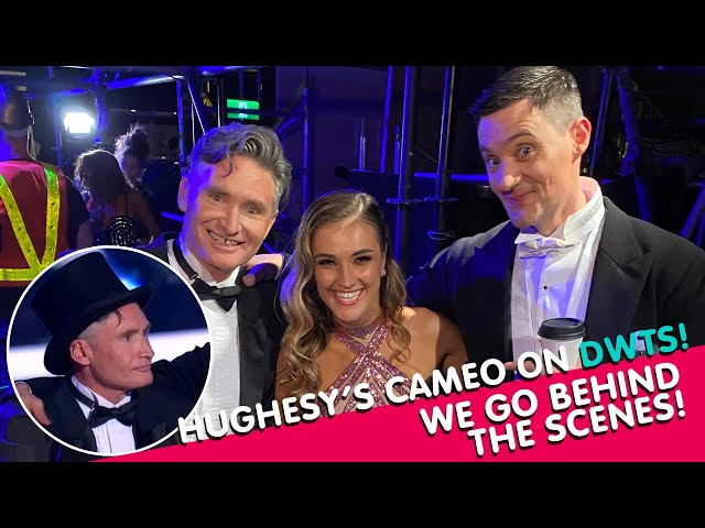 Dancing With The Stars Behind-The-Scenes Exclusive | Hughesy & Ed