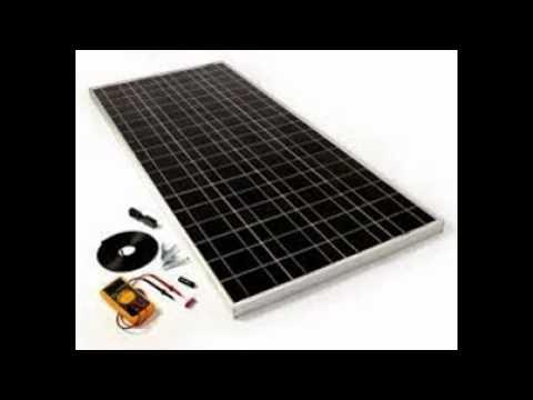 solar panels parts