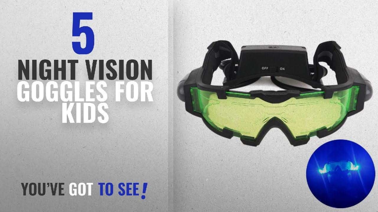 938ed7d52 Top 10 Night Vision Goggles For Kids [2018]: AGM Adjustable Night ...
