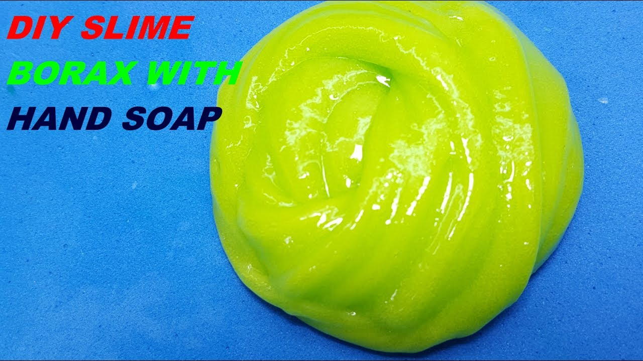 How to make slime hand soap with borax no glue diy slime easy youtube how to make slime hand soap with borax no glue diy slime easy ccuart Choice Image