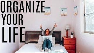 12 LISTS TO ORGANIZE YOUR LIFE