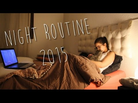 Night routine d'hiver 2015 ♥ - Horia - YouTube