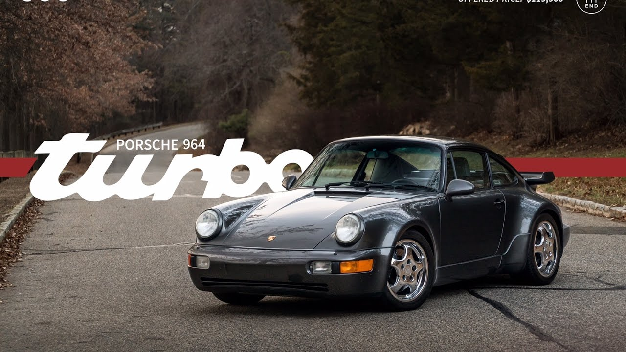 Driving the 1992 Porsche 911 Turbo available at www.LegendCarCo.com