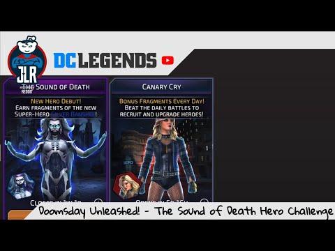 DC Legends - Doomsday Unleashed! - The Sound of Death Hero Challenge (Silver Banshee)
