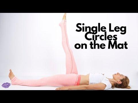 Single Leg Circles on the Mat | Online Pilates Classes