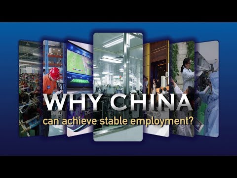 Why China can achieve stable employment?