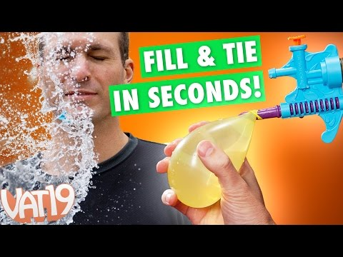 Tie-Not Water Balloon Filler & Tying Tool