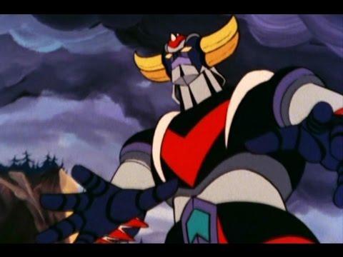 Ufo robot goldrake il cartone animato anni con il robottone di