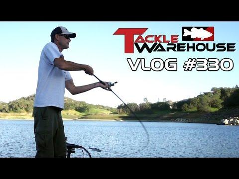 Swimbait Fishing On Santa Margarita Lake With Matt Newman Pt. 4 - Tackle Warehouse VLOG #330