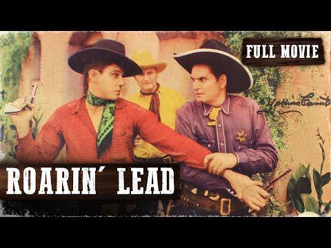 ROARIN' LEAD  Robert Livingston  Full Length Western Movie  English  HD  720p
