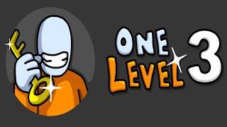 One Level 3: Stickman Jailbreak - Android Gameplay ᴴᴰ