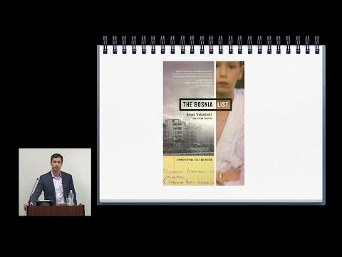 """The Bosnia List"" - a lecture by Kenan Trebincevic"