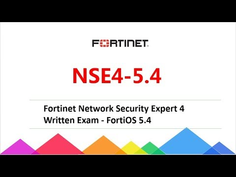 Passcert FortiOS 5.4 exam NSE4-5.4 dumps, Fortinet NSE4-5.4 ...