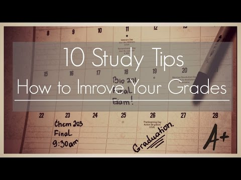 Study Tips Ii How To Improve Your Grades