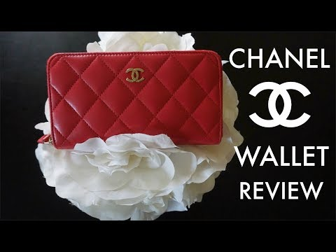 Chanel Compact Wallet Review