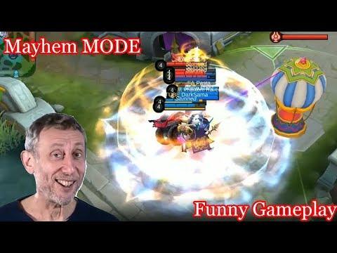 Mayhem Mode Funny Gameplay Mobile Legends
