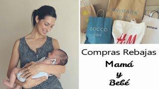 REBAJAS MAMÁ Y BEBÉ + OS PRESENTO A JORGE | @rosapastelvlog