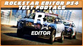 Rockstar Editor PS4 Test Footage - GTA 5 Online